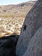 Rock Climbing Photo: Richard Shore leading That Old Soft Shoe 5.10d. Ph...
