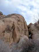 Rock Climbing Photo: Picture of Reggie's Southwest Face.