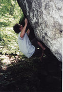 Rock Climbing Photo: Somewhere along the Blue Ridge Parkway in 1999