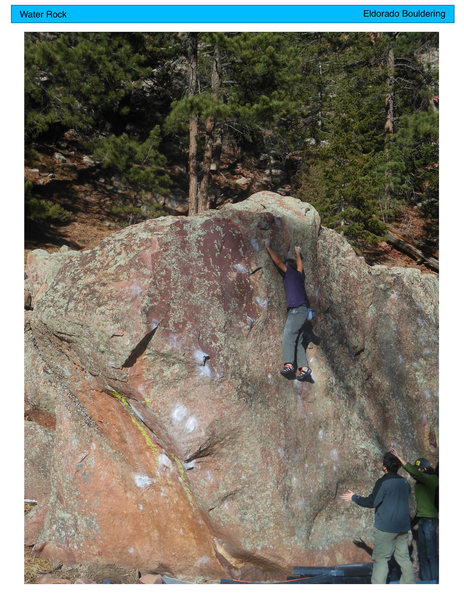 Bouldering on in 2013.