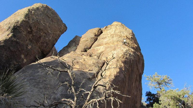 Rock Climbing Photo: Escape to Queen Mountain