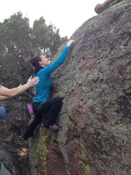 Rock Climbing Photo: Left Side.