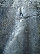 Rock Climbing Photo: Aid soloing CBT.