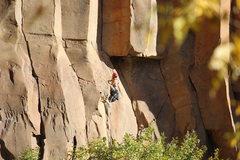 Rock Climbing Photo: finally to the good stone