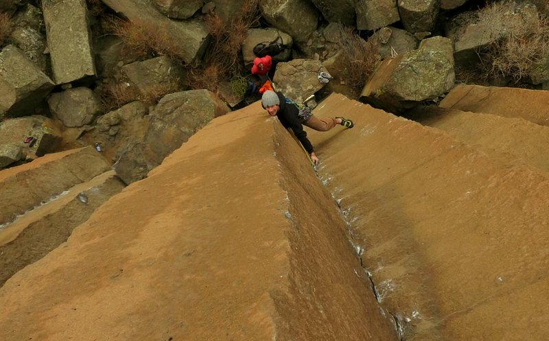 Rock Climbing Photo: Fall Line