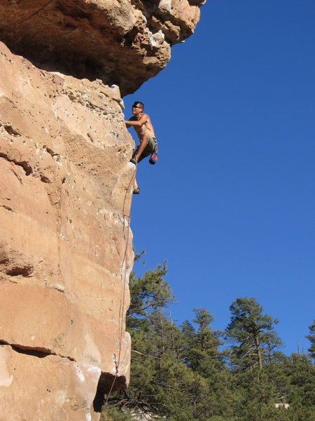 beautiful day of flagstaff cragging