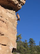 Rock Climbing Photo: beautiful day of flagstaff cragging