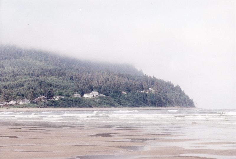 Rock Climbing Photo: The town of Seaside, Oregon