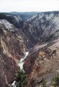 Rock Climbing Photo: Yellowstone