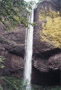 Rock Climbing Photo: Multnomah Falls in the Colombia River Gorge Nation...