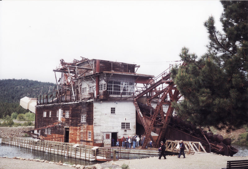 Rock Climbing Photo: Mining works somewhere in the west