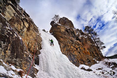 Rock Climbing Photo: Bridalveil Falls On 2/2/13