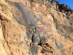 Rock Climbing Photo: My favorite route in St. George.