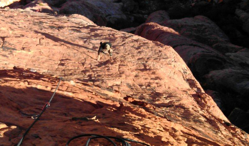 Rock Climbing Photo: Super fun route!