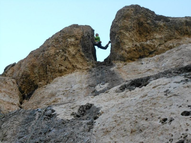 Rock Climbing Photo: Beer Bong Chimney