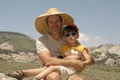 Rock Climbing Photo: Ro & Me at City of Rocks, Idaho summer 2012