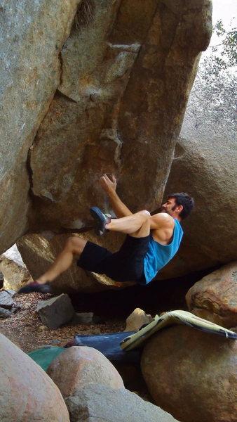 Rock Climbing Photo: karl's new error,  jaws area