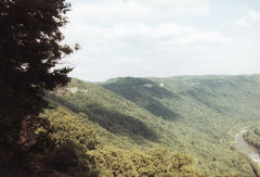 Rock Climbing Photo: The Endless Wall at New River Gorge in West Virgin...