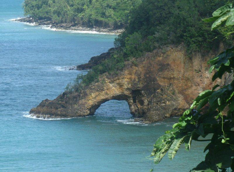 St. Lucia natural bridge