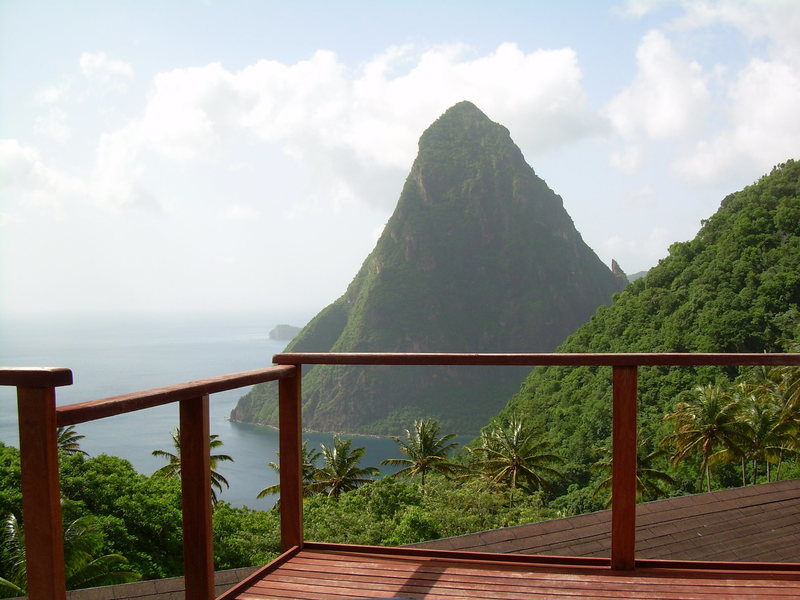Rock Climbing Photo: Petite Piton