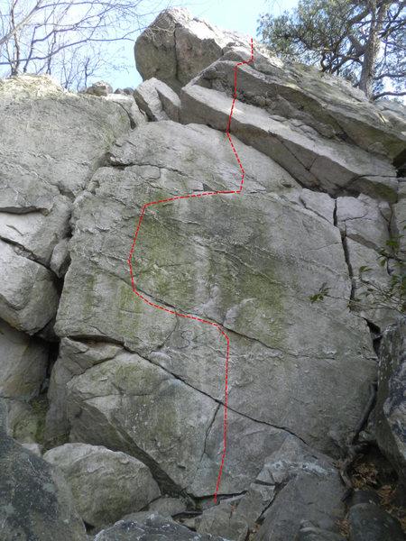Rock Climbing Photo: Bloodguard