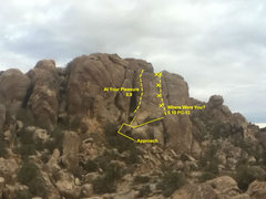 Rock Climbing Photo: This is missing many routes, feel free to take the...