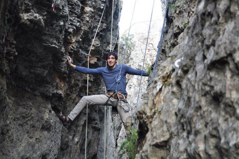 Rock Climbing Photo: I'm spidurp man?