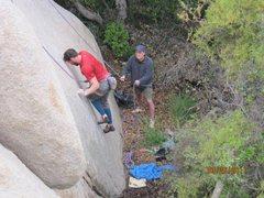 Rock Climbing Photo: Rasta Face