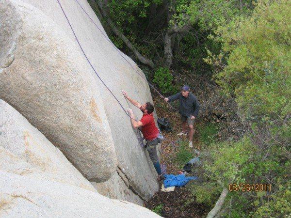 Rock Climbing Photo: Rasta face start