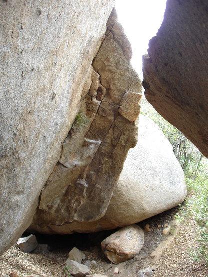 Rock Climbing Photo: karl's new error