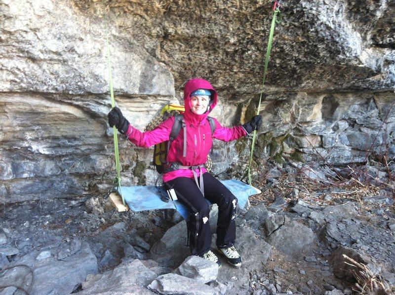 Rock Climbing Photo: Weeeeee!