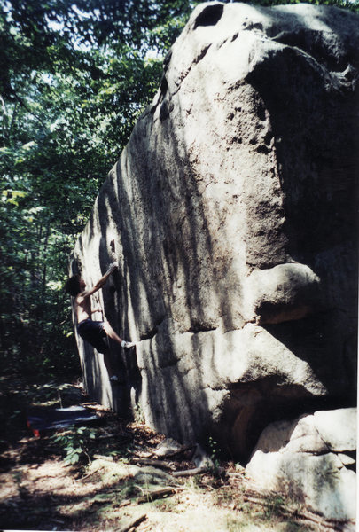 Rock Climbing Photo: Lithe V4-5 Elk Pennsylvania