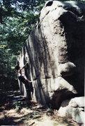 Rock Climbing Photo: Lithe V4-5 Elk Pennsylvania