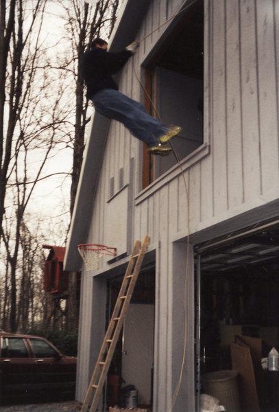 Rock Climbing Photo: crazy kid