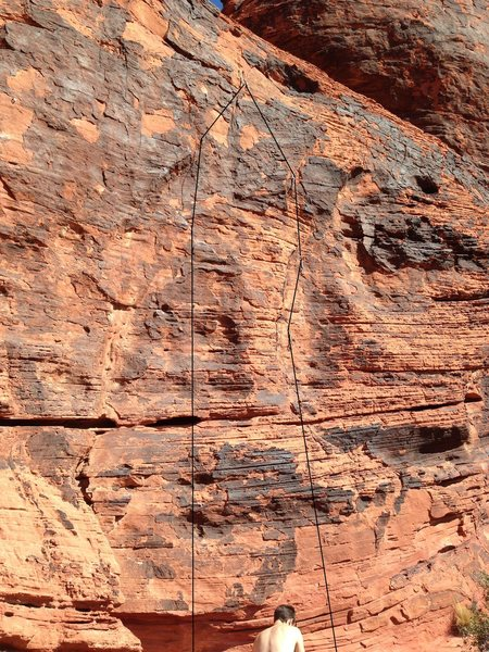 Rock Climbing Photo: Right Playing Hooky Left Doctor's Orders