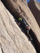 Rock Climbing Photo: End of Crux