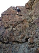 Rock Climbing Photo: Shino, 9th street ogden. 5.9