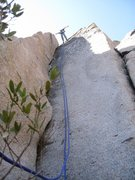 Rock Climbing Photo: hands free rest. Ok Im really on rappel