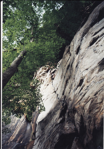 Rock Climbing Photo: Sand in (someone who is not me) My Crack while res...