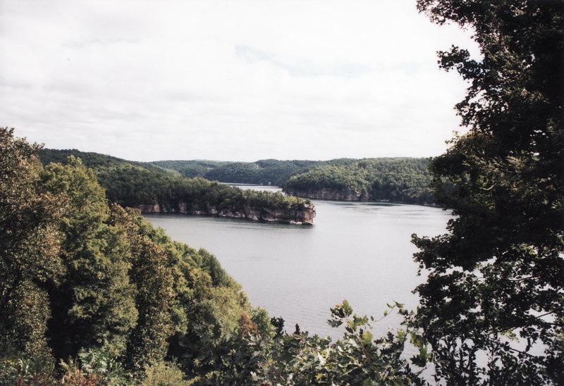 Rock Climbing Photo: Long Point on Summersville Lake, West Virginia
