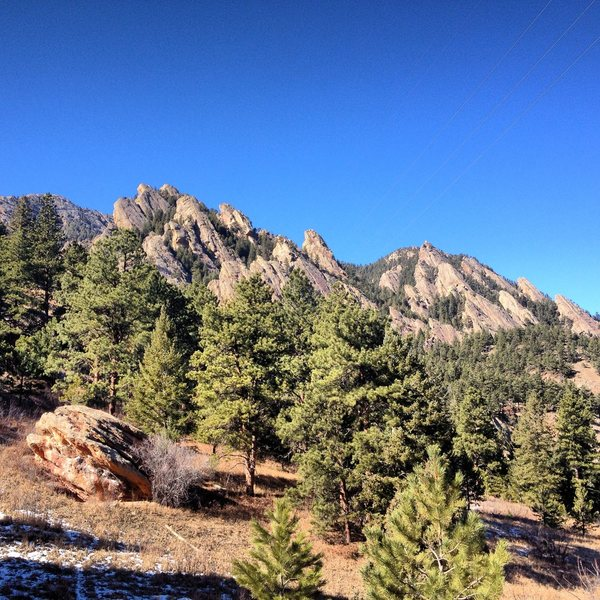 15 minutes from NCAR.