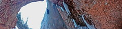 Rock Climbing Photo: Cornett Falls.