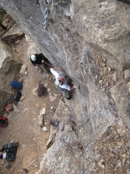 Rock Climbing Photo: Mark on SWAG.