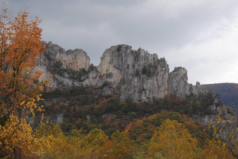 Rock Climbing Photo: Home away from home... Seneca Rocks, WV.
