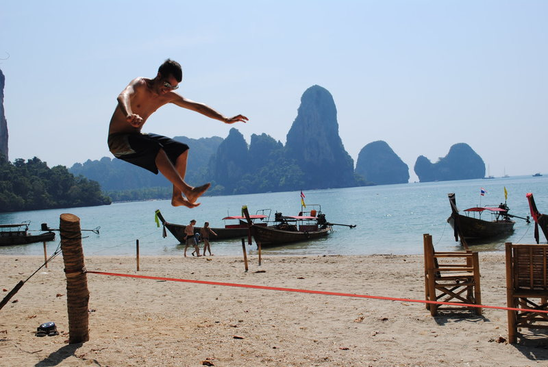 Rock Climbing Photo: Mai Pen Rai.   Tonsai Beach, Thailand