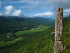Rock Climbing Photo: Crotchrocket Spire - West By God Virginia
