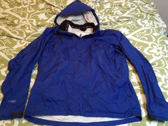 Rock Climbing Photo: Marmot Precip Jacket, size L
