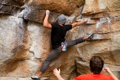Rock Climbing Photo: Me on the Onsight