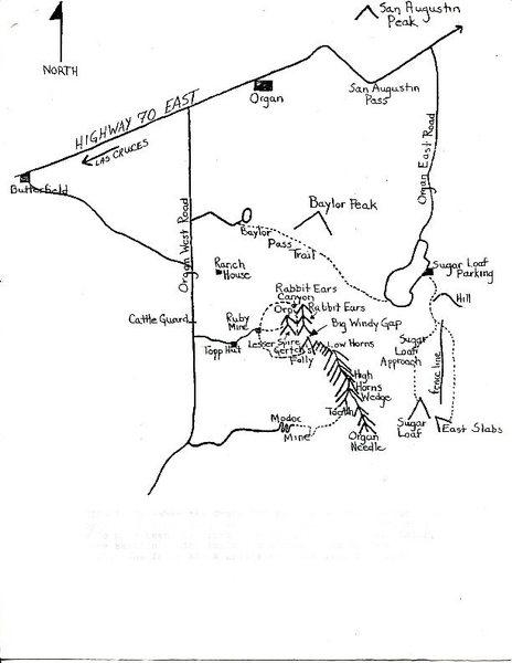 Organs overview written by Paul & Linda Seibert (c) 1976 - map page 3