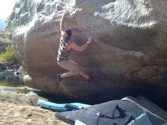 Rock Climbing Photo: Ryan on Shipwrecked V5